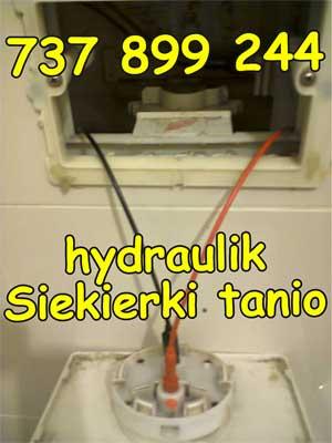 hydraulik Siekierki tanio